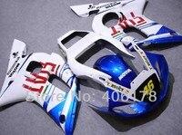 Hot Sales,Yzf600 R6 98 99 00 01 02 fairing For Yamaha Yzf R6 1998 2002 Race Bike FIAT Bodywork fairing (Injection molding)