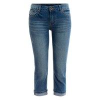 Verano Capri de Mezclilla Skinny Jeans Stretch Mujer Pantalones Vaqueros de Cintura Alta Pantalones Cortos de Mezclilla de Las Mujeres Ropa Y137