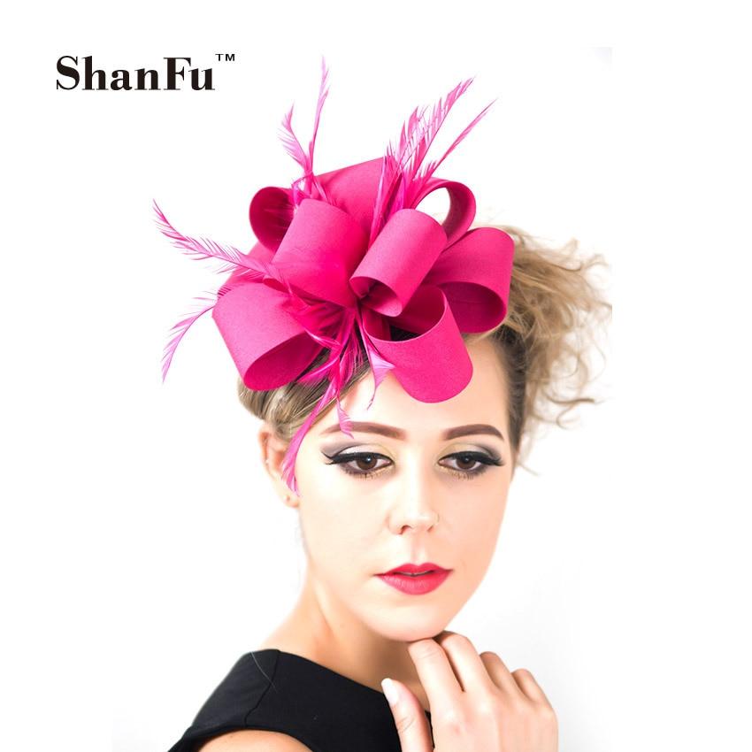 ShanFu Fashion Ladies Fascinator Headbands Handmade