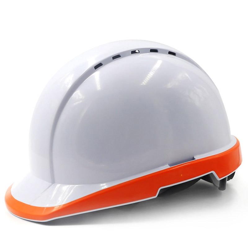 Safety Helmet Work Cap Fluorescent Hard Hat Construction Protective Helmets Outdoor Breathable Labor Engineering Rescue Helmet цена