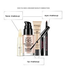 5Pcs Professional Makeup Tool Kit Must Have Cosmetics Gift Makeup Set Foundation Lip Balm Eyebrow Pencil Mascara Make up Pack