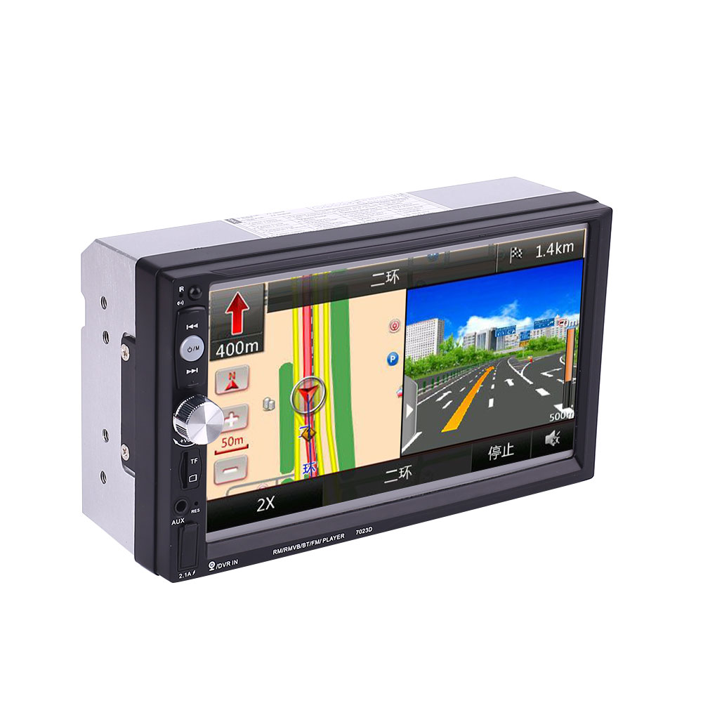2 DIN 7 Touch Screen Car Stereo MP5 7023D Support Bluetooth Radio2 DIN 7 Touch Screen Car Stereo MP5 7023D Support Bluetooth Radio