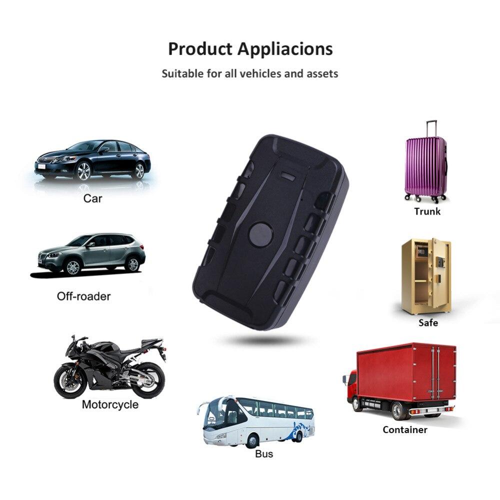GPS Tracker Auto LK209C 20000mAh 240 Giorni In Standby Impermeabile Inseguitore Del Veicolo Dei GPS Dispositivo di Tracciamento Locator Magneti di Goccia Allarme di Scossa - 2