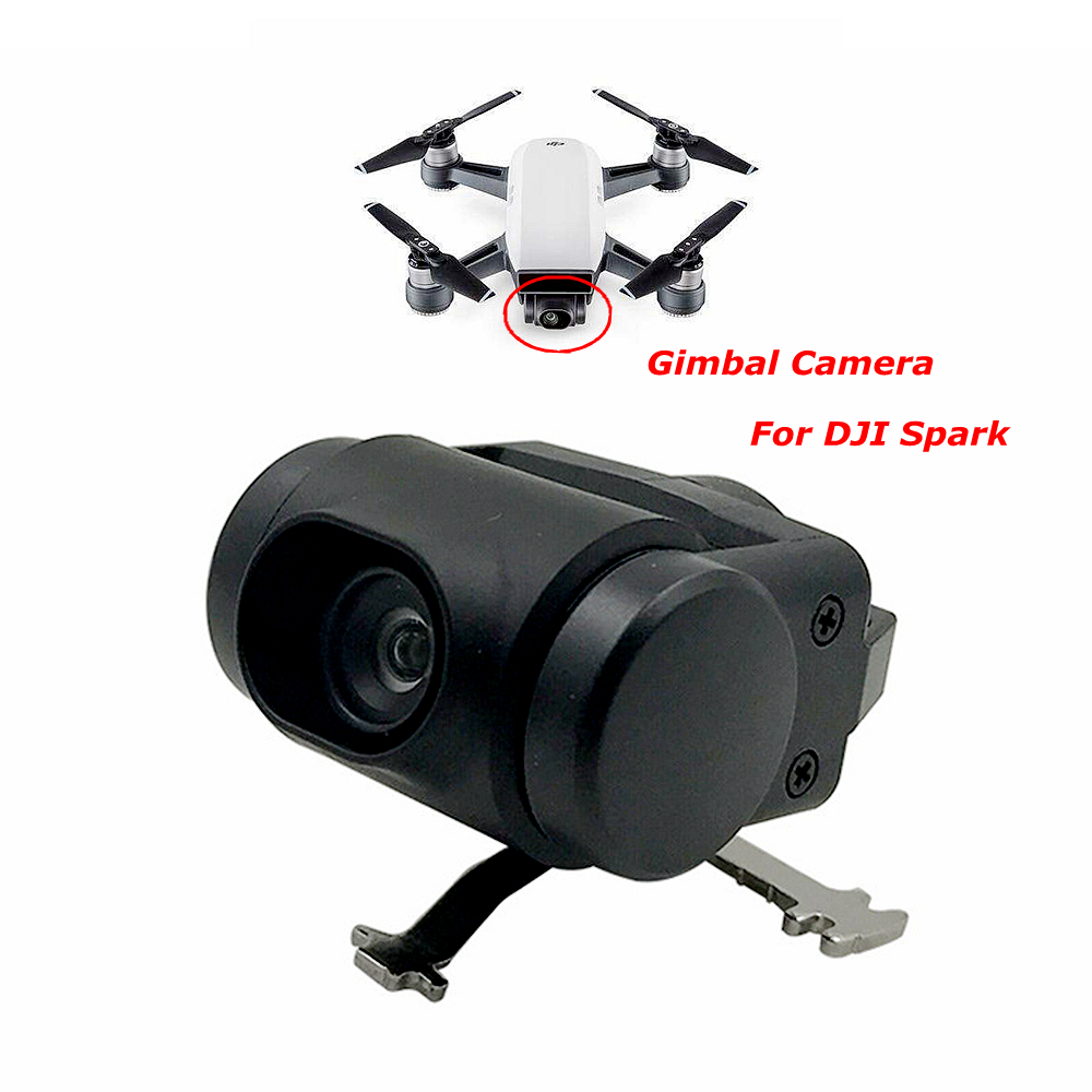 DJI Spark Gimbal Camera Original Repair Parts for DJI Spark Drone Camera 12MP FPV HD 1080p Accessories Components Part drone dji spark fly more combo 1080p new mini portable fpv drone dji quadcopter 100% original