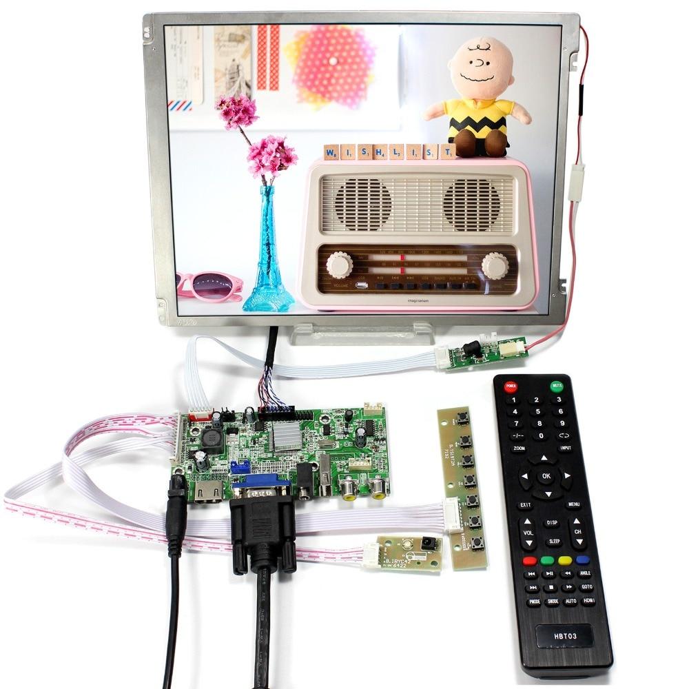 HDMI+VGA+AV+Audio+USB LCD Controller Board 10.4inch 800x600 Replace G104SN03 V1 vga hdmi lcd controller board for lp156whu tpb1 lp156whu tpa1 lp156whu tpbh lp156whu tpd1 15 6 inch edp 30 pins 1 lane 1366x768