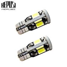 2X T10 LED Car Light Canbus 194 W5W Auto Bulbs Styling White For TOYOTA Highlander Previa PRADO4700 Vizi Vios Land Cruis