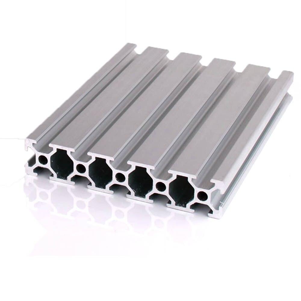 1 Pc 20 100 Aluminium Profil Extrusion 100-800mm Länge Europäischen Standard Eloxiert Linear Schiene Für Diy Cnc 3d Drucker Werkbank Direktverkaufspreis