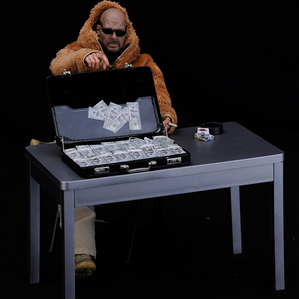 12 inch Action Figure Square table 1:6 Doll Model Desk Action