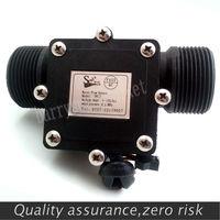 10 шт. расходомер воды расходомер зал сенсор переключатель счетчик топлива индикатор caudalimetro потока устройства DN32 G1.25 1 120L/мин