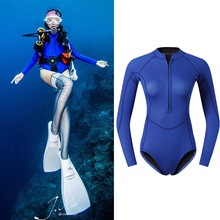 2MM Neoprene One Piece Diving Suits Snorkeling Surfing Rash Guard Wetsuits new 2mm neoprene swimsuit kids baby girls boys wetsuits one piece diving suits snorkeling surfing rash guards children swimwear