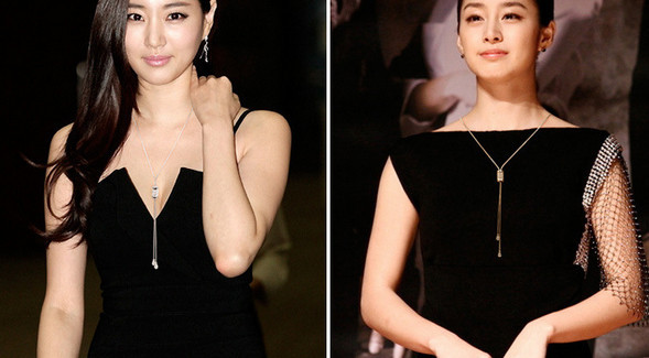 Rose gold crystal tassel long simple necklace womens jewellery 16 new korean luxury elegant collier sautoir long/colar longo 3