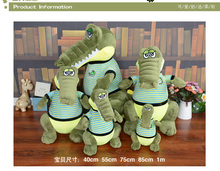 1pc 40m crocodile creative cartoon pillow stuffed birthday gifts