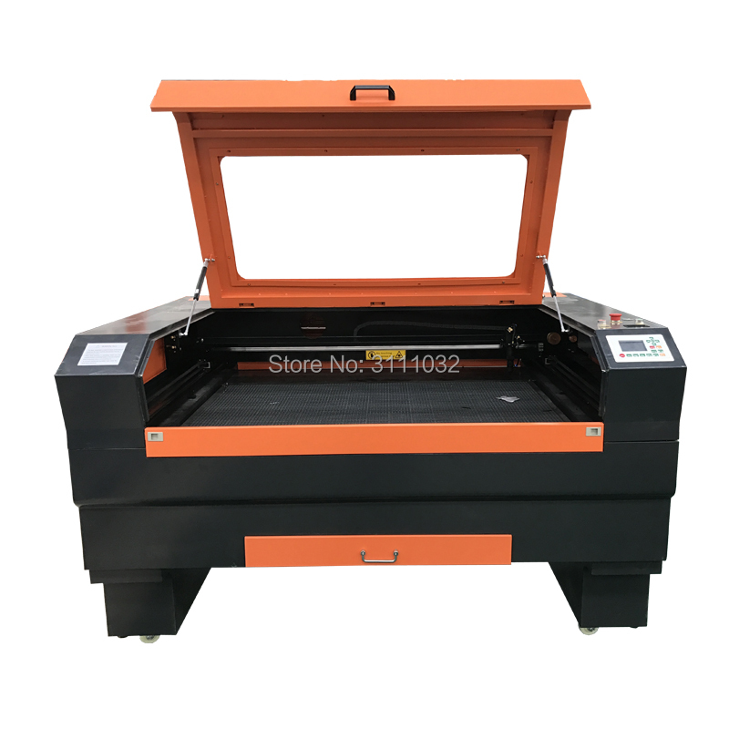 Advanced Vinyl Sticker Laser Cutting Machine/Reci 100watt Laser Tube Cutting Machine 1390