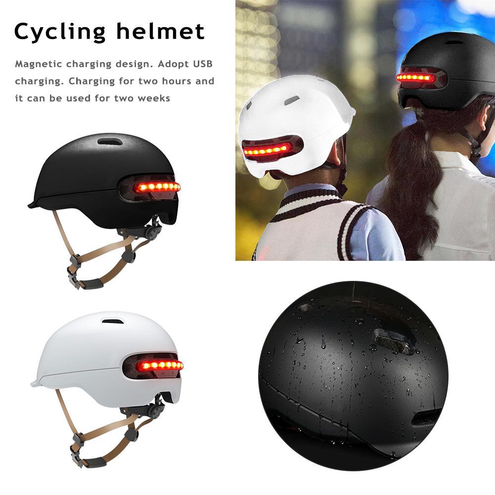 Flash Helmet for Xiaomi M365 Electric Skateboard Scooter Electric Car Smart Flash Riding Helmets