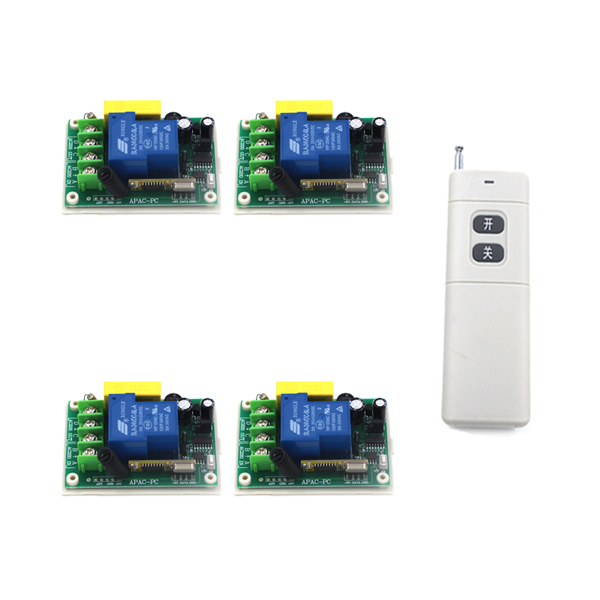220V 30A 1 Channel Efficient Wireless Practical ON/OFF Corridor Light Switch Remote Control Receiver Transmitter SKU: 5322 220v 30a single channel remote control switch remote receiver for door window 1 transmitter control 8 switchs 4354