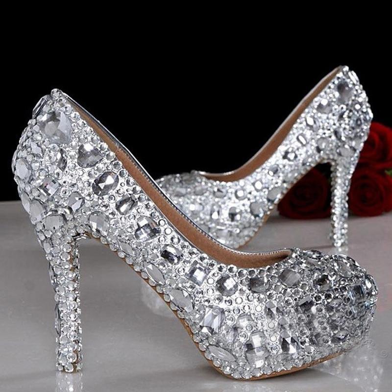 Online Get Cheap Short Silver Heels -Aliexpress.com  Alibaba Group