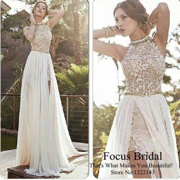 2014 Modest Halter Julie Vino Orchid Collection Backless Lace And ...