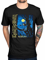 LEQEMAO New 100 Cotton Funny Iron Maiden Fear Of The Dark T Shirt Final Frontier Brave