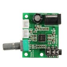 NEW 12V 2X10W Hi-Fi PAM8610 Digital Audio Stereo 2CH Amplifier Board Module Class D DC7V – 15V 32mm X 40mm New Electric Unit