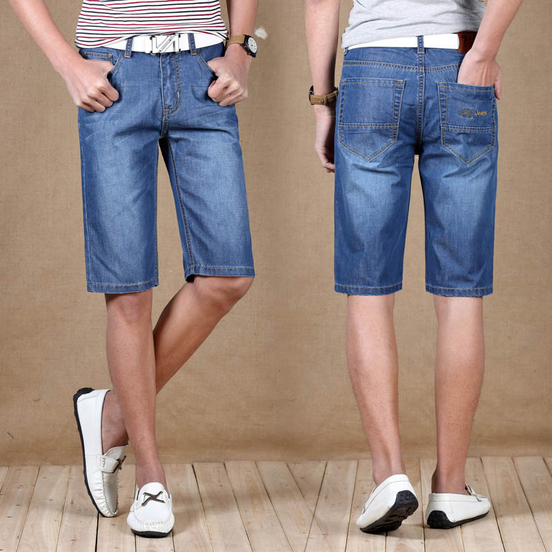 Compare Prices on Men Fitted Jean Shorts- Online Shopping/Buy Low ...