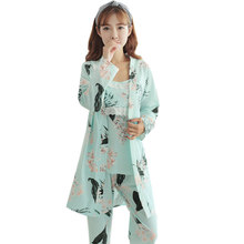 Autumn Spring Maternity Outfit Suits Breastfeeding Long Sleeved Sets Clothes for Pregnant Women New Nursing Sports Clothing цены онлайн