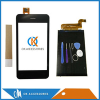 New Replacement For Fly Stratus 5 FS406 FS 406 Touch Screen Digitizer Black Color 1PC Lot