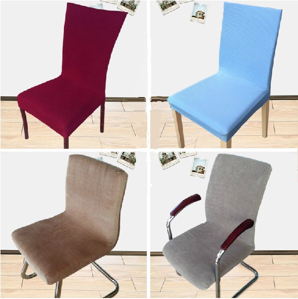 22 Styles Elastic Office Chair Cover Brief Dining Chair Seat Cover More  Color Polyester Housse De Chaise Universal Copri Sedie In Chair Cover From  Home ...