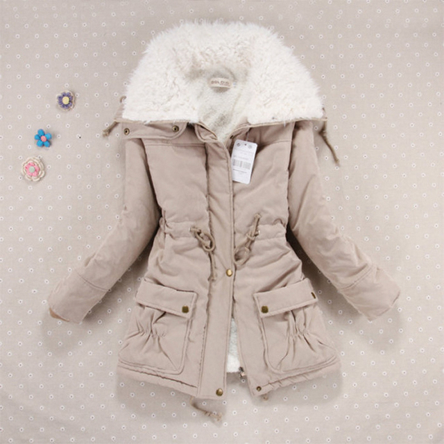 New 2018 Winter Coat Women military Outwear Medium-Long Wadded Hooded snow Parka thickness Cotton Warm casual Jacket Plus Size 3