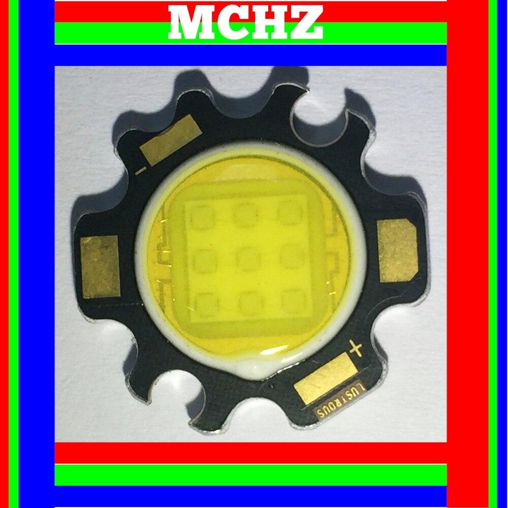 2 pièces MCHZ haute puissance puce LED 1W 3W 5W 8W 10W 12W 14W 15W blanc froid chaud