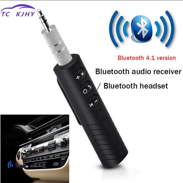 Bluetooth Aux Audio Receiver Bluetooth Transmitter Universal 3.5mm Jack Handsfree Auto Bluetooth Car Kit Music Earphone Adapter
