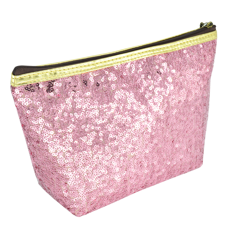 Light shining sequins Makeup Bags With Multicolor Cute Cosmetics Pouchs For Travel Ladies Pouch Women Cosmetic Bag