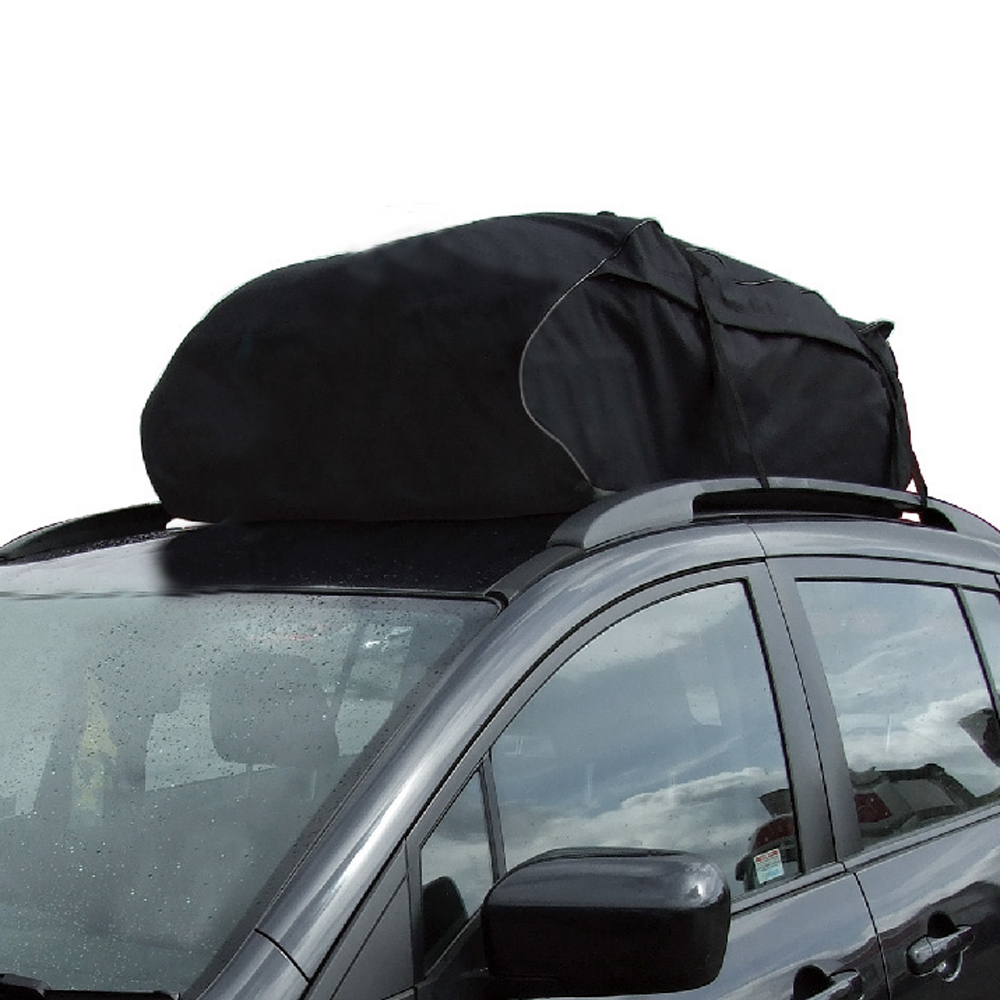 T20656 Car Style Roof Top Bag Rack Cargo Carrier Luggage Storage Travel Waterproof Touring SUV Van for Cars partol universal car roof rack cross bars crossbars with anti theft lock 60kg 132lbs cargo basket carrier snowboard luggage top