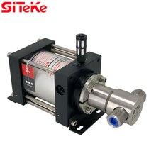 SITEKE XH39 Gas-liquid booster pump Max Output Pressure 373.5 Bar Air Driven Liquid Pumps  for oil or water applications