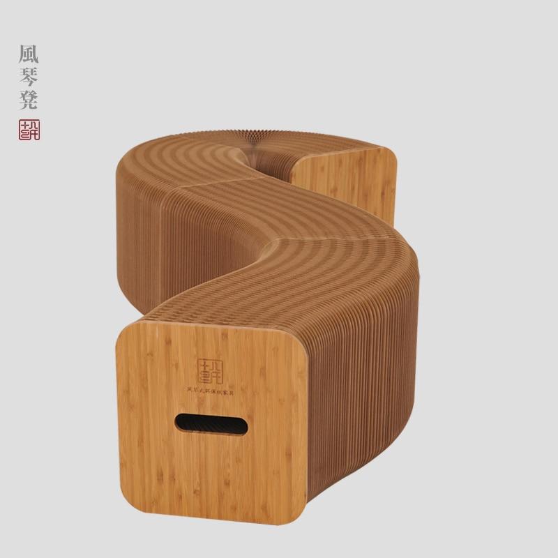 Monen hengen sohvatuoli Makuuhuonepöytä Creative Beanbag moderni minimalistinen taitto Art Ympäristönsuojelu paperikalusteet