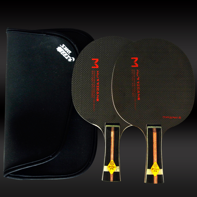 XVT M7  Whole Carbon / Full Carbon TABLE TENNIS Blade/ Table Tennis Bat Pingpong blade Snd Whole cover case