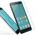 for Xiaomi Redmi note 2 Tempered Glass 0.26mm 9H Surface Hardness Explosion-proof Screen Protector Film free shipping