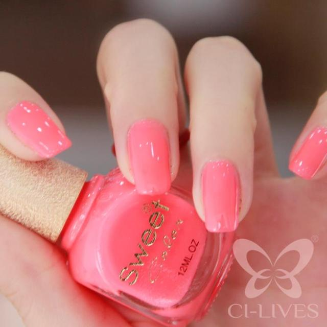 Environmental Protection Sweet Color Candy Pink Green Gel Nail Polish Supple Hot SpringBright Colours Shining Health