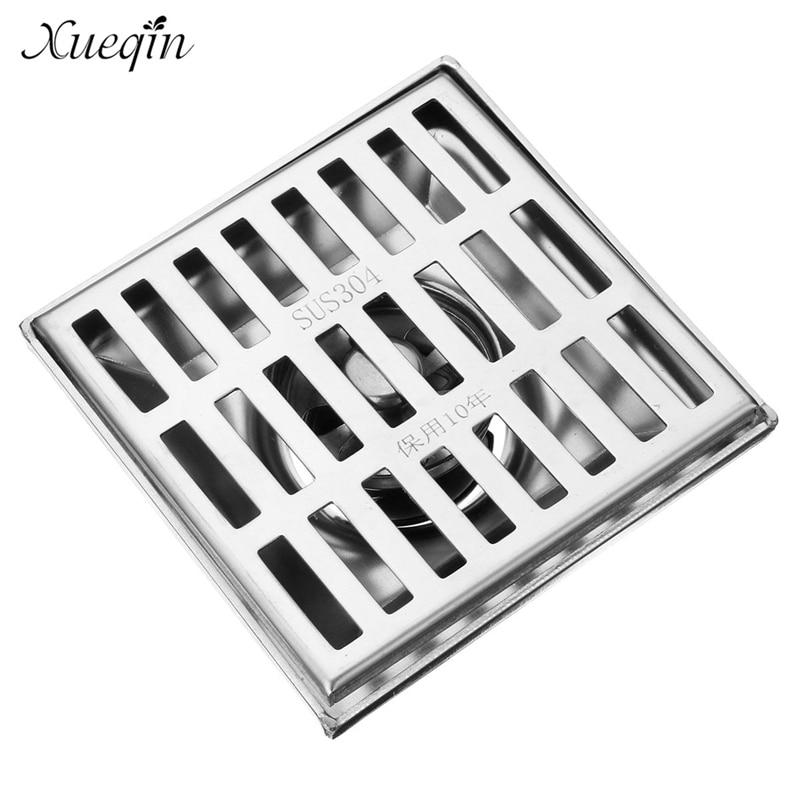 ФОТО Xueqin Free Shipping Anti Rust Bathroom Floor Drain Stainless Steel Common Floor Drain Filter Household Cleaning Hardware