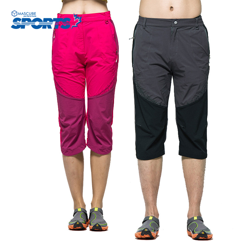 Women Men Hiking Shorts Outdoor Sports Camping Climbing Short Quality Breathable Quick Dry Summer Style