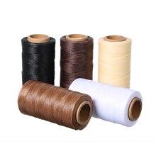 260 м 150D 0,8 мм кожаное шитье, ручная строчка, вощеная нить, шнур для кожи, сделай сам, ручная строчка, Швейные аксессуары