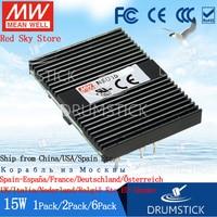 (6PACK) Meanwell 15W DC DC conversion Power Supply NSD15 12D12 + 12V NSD15 12S5/12 5V 12V 9.4~36V input regulated power supply