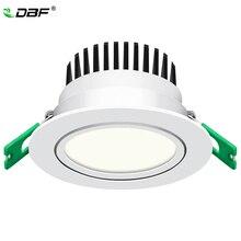 [DBF] новая модель матовый Объектив светодиодный встраиваемый светильник с высокой яркостью Epistar COB Светодиодный точечный потолочный светильник 5 Вт 7 Вт 10 Вт 12 Вт с трансформатором