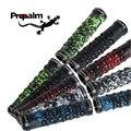 новый PROPALM череп дизайн TPR резина двухстороннее привязка MTB неподвижный механизм велосипед руль велоспорт захваты, 6 цвет - фото