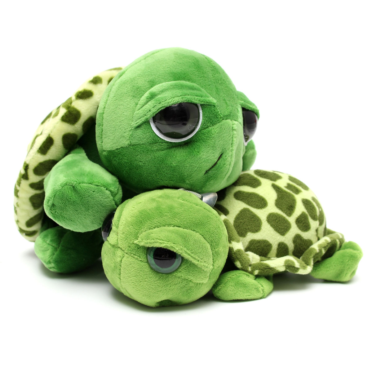 cute baby turtle cartoon with big eyes