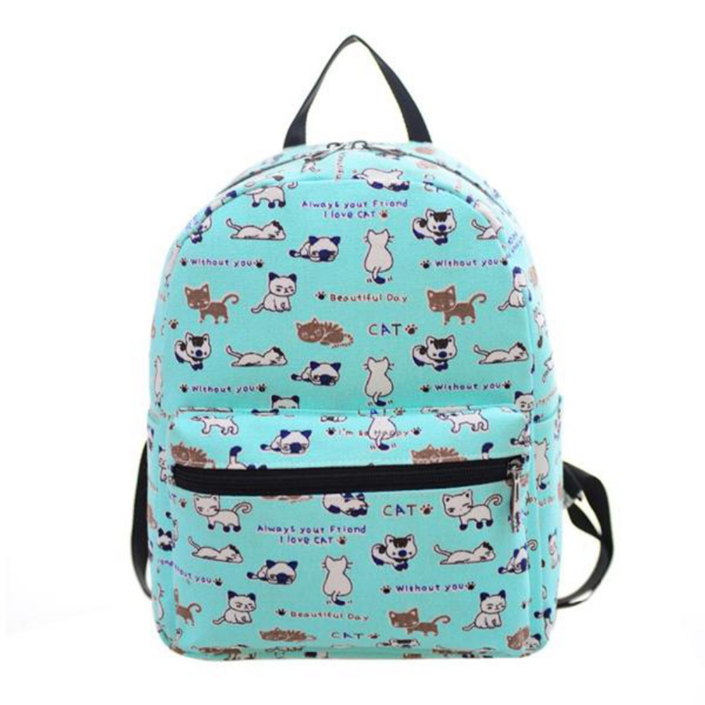 New Backpack Women High Quality canvas Mochila Escolar School Bags For Teenagers Girls lovely bag hot sale mochila feminina #39 hot sale 2017 new arrival bag mochila escolar backpack anime kawaii backpack mochila for teenage girls korean school bags