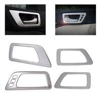 Beler 4 Pcs Set Car Interior Door Handle Bowl Cover Trim Frame Styling Fit For Toyota