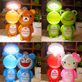 Cute energy-saving LED night light eye protection Rechargeable table lamp student bedroom reading desk lamp for kids girls gifts