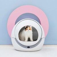 Крытый автоматические кошки песочницы котенок робота помета окно закрыто лоток Туалет Ротари Training Съемная судно аксессуары для домашних ж