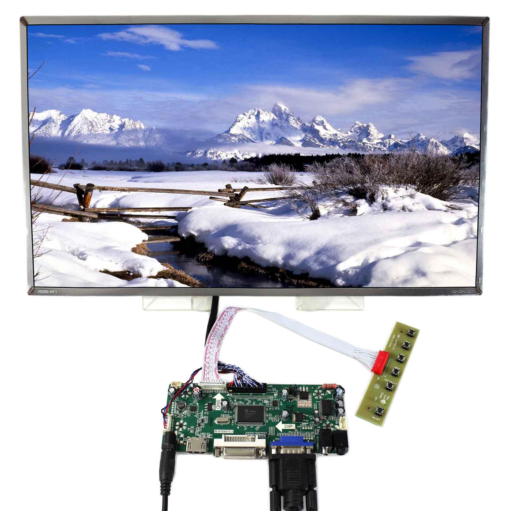 HDMI DVI VGA AUDIO LCD Controller Board 17 3 LP173WF1 1920x1080 LCD Screen