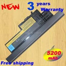 Новый 5200 мАч 8 сотовый ноутбука Батарея для IBM ThinkPad X60 X60S X61 X61s серии 40Y6999 40y7001 40y7003 42t4505 asm 92p1170